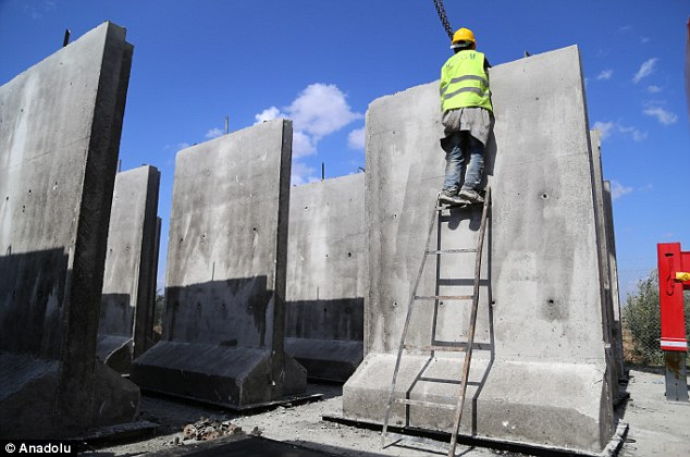 Turkish Government Plans To Build Walls Along Borders With