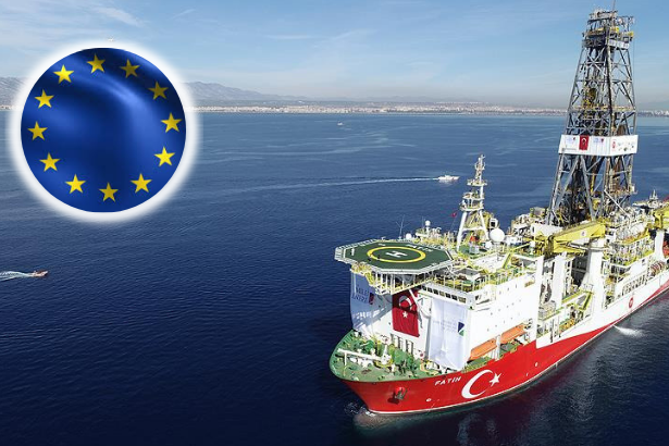 EU sanctions Turkey for drilling activities