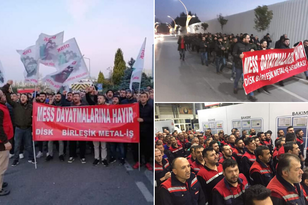 Metalworkers in Turkey start a series of demonstrations for their rights