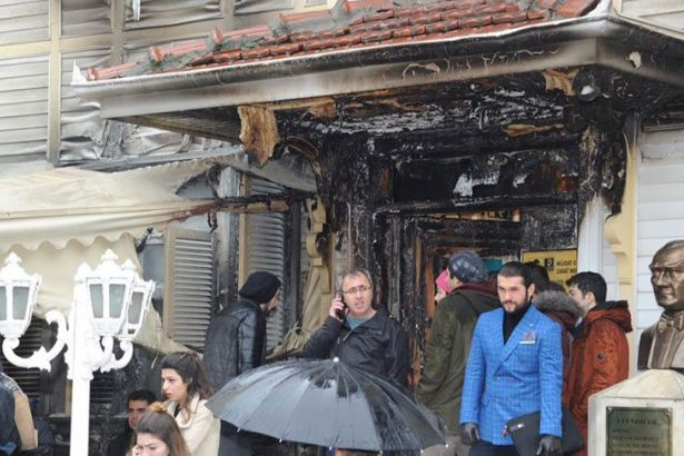 Arson attack on Turkish arts centre critical of government